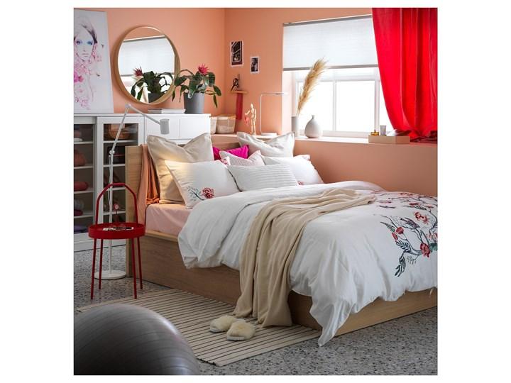 MALM Łóżko z pojemnikiem Łóżko drewniane Kategoria Łóżka do sypialni Kolor Beżowy