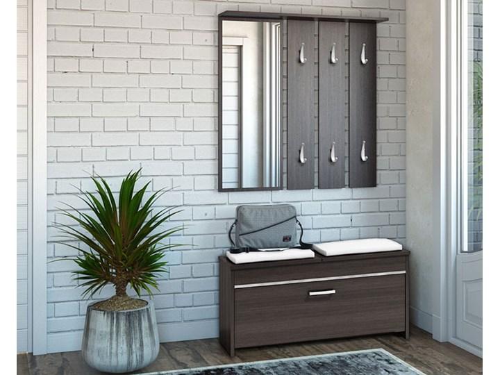 Garderoba z szafką na buty Avila - wenge Kategoria Zestawy mebli do sypialni