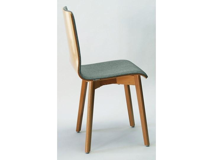 LUKA SOFT W krzesło bukowe, jasno szara tkanina 07 Głębokość 41 cm Płyta MDF Tapicerowane Głębokość 40 cm Szerokość 42 cm Wysokość 87 cm Styl Nowoczesny Drewno Kategoria Krzesła kuchenne