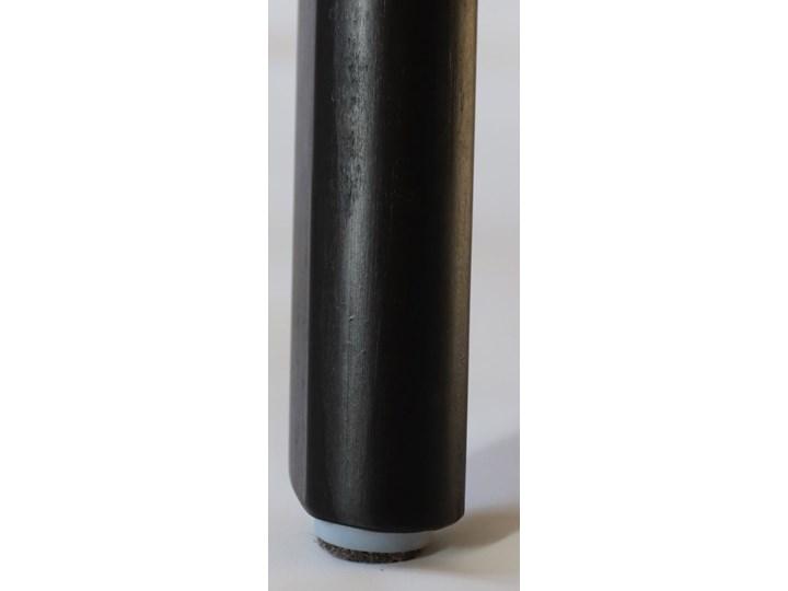 GRIM krzesło drewniane czarne Tkanina Płyta MDF Głębokość 41 cm Drewno Wysokość 86 cm Pikowane Szerokość 42 cm Tapicerowane Głębokość 38 cm Styl Industrialny