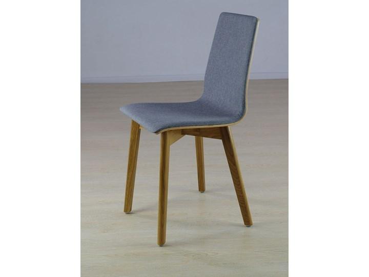 LUKA SOFT W krzesło dębowe, tkanina Lt.grey Głębokość 41 cm Drewno Szerokość 40 cm Płyta MDF Tapicerowane Wysokość 87 cm Głębokość 40 cm Kolor Szary