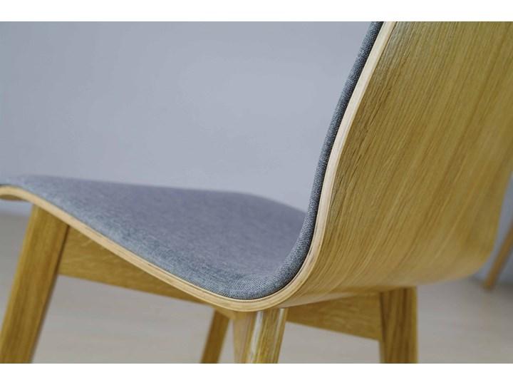 LUKA SOFT W krzesło dębowe, tkanina Lt.grey Szerokość 40 cm Głębokość 40 cm Drewno Głębokość 41 cm Płyta MDF Wysokość 87 cm Tapicerowane Pomieszczenie Salon