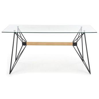 Designerski stół ze szklanym blatem Allegro