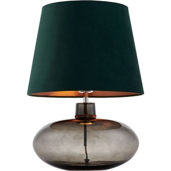 Lampa stołowa Sawa Velvet Zielona, Kaspa
