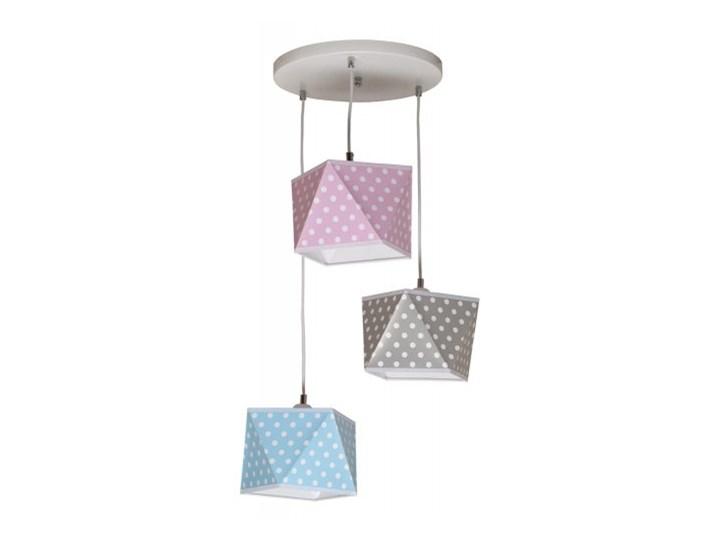 Plafon DIAMENT dziecięcy z denkami 3 płomienny Lampa wisząca Kategoria Lampy dziecięce