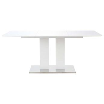 Stół jadalniany z połyskiem Alur – biały