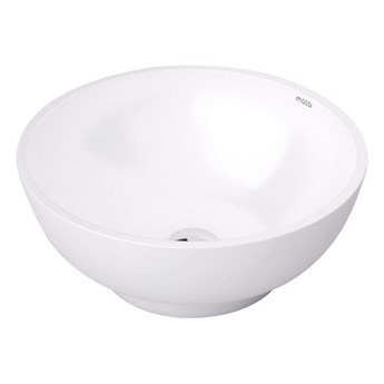 Umywalka nablatowa biała Malo 38x38x15,5