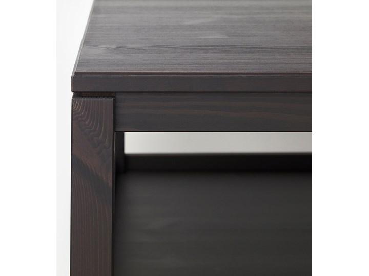HAVSTA Stolik kawowy Drewno Wysokość 48 cm Kolor Brązowy