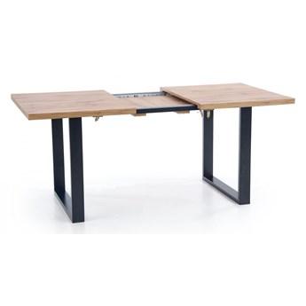 Drewniany rozkładany stół do salonu Lucy 2X