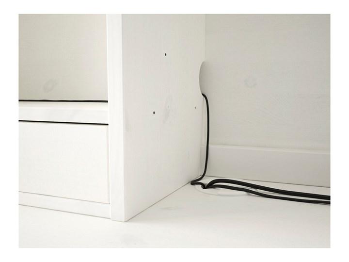 HEMNES Biurko z nadstawką Głębokość 65 cm Drewno Kolor Biały Szerokość 155 cm Pomieszczenie Biuro