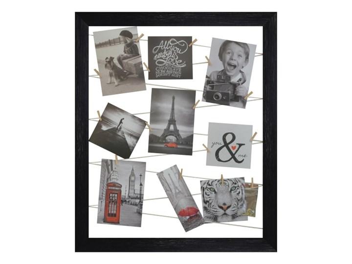 Galeria na zdjęcia 40 x 50 cm sznurkowa czarna