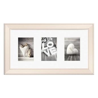 Galeria na zdjęcia Malmo 23 x 46 cm kremowa