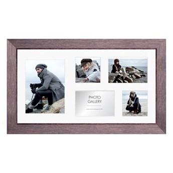Galeria na zdjęcia Narvik 27 x 51 cm brązowe