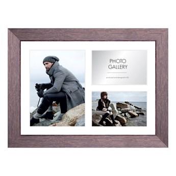Galeria na zdjęcia Narvik 28 x 39 cm brązowe