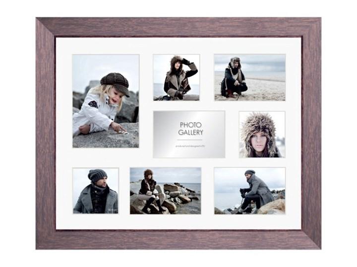 Galeria na zdjęcia Narvik 41 x 51 cm brązowe Ramka na zdjęcia Drewno Rozmiar zdjęcia 41x51 cm