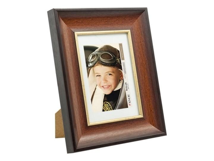 Ramka na zdjęcia 10 x 15 cm brązowo-złota Stojak na zdjęcia Rozmiar zdjęcia 10x15 cm Tworzywo sztuczne Kategoria Ramy i ramki na zdjęcia
