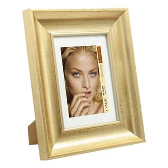 Ramka na zdjęcia 10 x 15 cm stare złoto