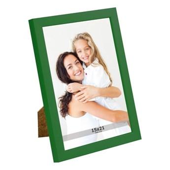 Ramka na zdjęcia 15 x 21 cm zielona