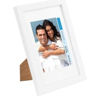 Ramka na zdjęcia 18 x 24 cm biały lakier