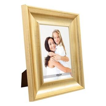 Ramka na zdjęcia 18 x 24 cm stare złoto
