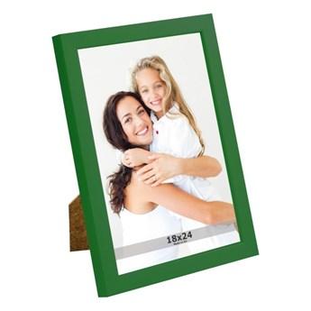 Ramka na zdjęcia 18 x 24 cm zielona