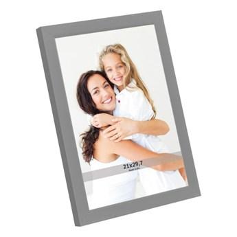 Ramka na zdjęcia 21 x 29,7 cm szara