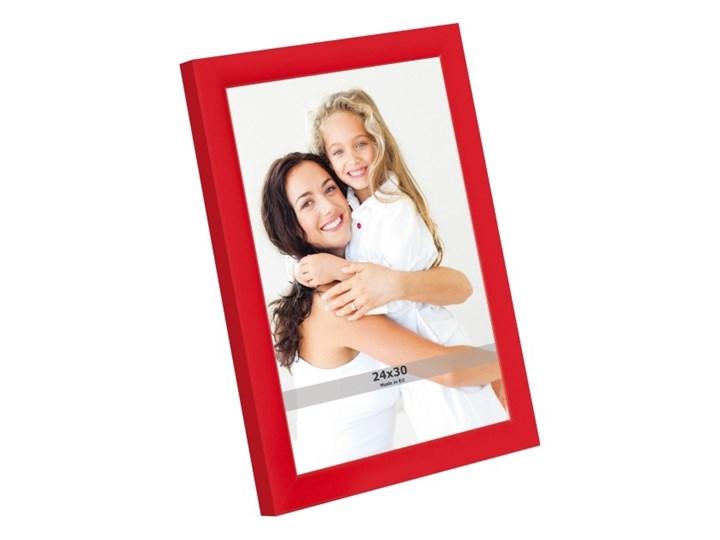Ramka na zdjęcia 24 x 30 cm czerwona