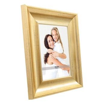Ramka na zdjęcia 24 x 30 cm stare złoto
