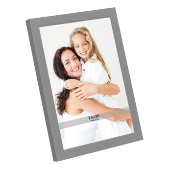 Ramka na zdjęcia 24 x 30 cm szara