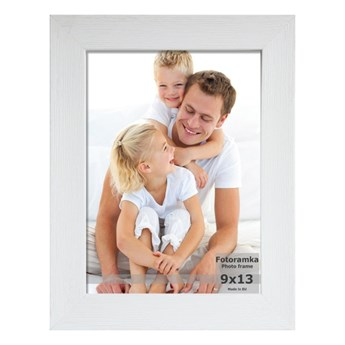Ramka na zdjęcia 30 x 40 cm biała