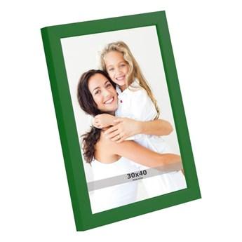 Ramka na zdjęcia 30 x 40 cm zielona