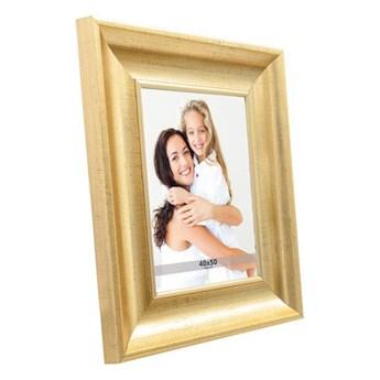 Ramka na zdjęcia 40 x 50 cm stare złoto