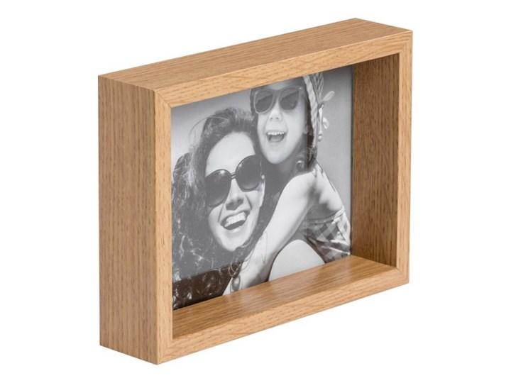 Ramka na zdjęcia Box 13 x 18 cm efekt dębu Drewno Pomieszczenie Salon Kolor Brązowy