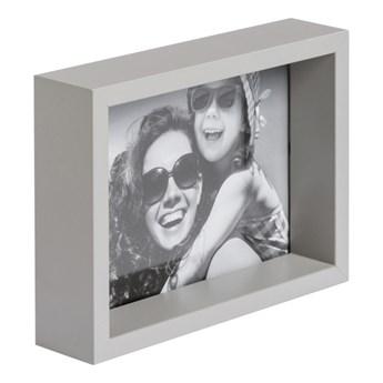 Ramka na zdjęcia Box 13 x 18 cm jasnoszara