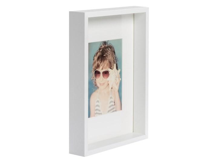 Ramka na zdjęcia Box A4 biała Drewno Rozmiar zdjęcia 21x29 cm