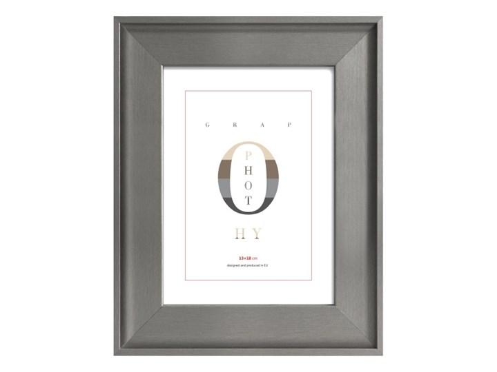 Ramka na zdjęcia London 13 x 18 cm srebrna