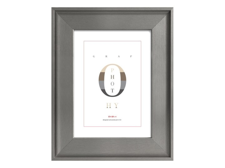 Ramka na zdjęcia London 13 x 18 cm srebrna Drewno Rozmiar zdjęcia 13x18 cm Kolor Srebrny