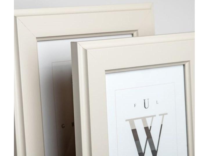 Ramka na zdjęcia Malmo 13 x 18 cm kremowa Drewno Kategoria Ramy i ramki na zdjęcia