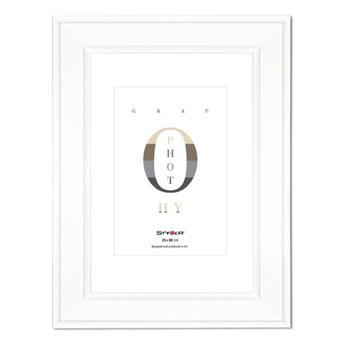 Ramka na zdjęcia Malmo 21 x 30 cm biała