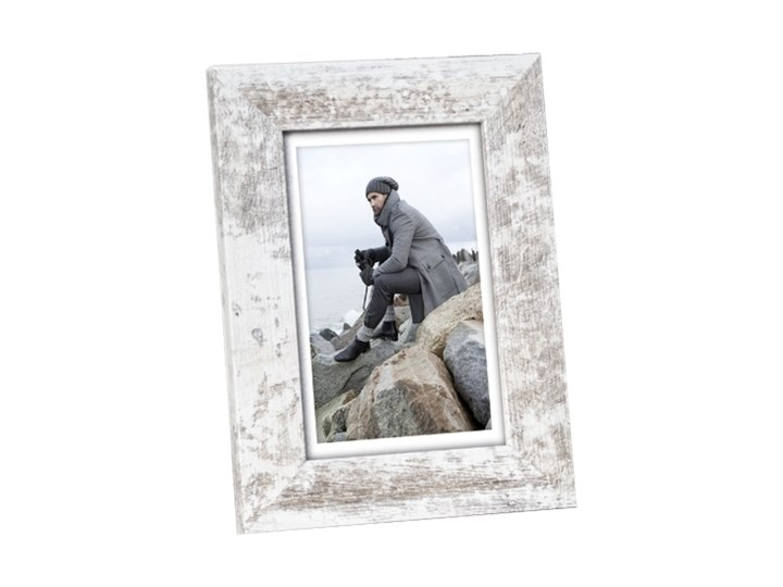 Ramka na zdjęcia Narvik 10 x 15 cm shby Pomieszczenie Salon Drewno Rozmiar zdjęcia 10x15 cm