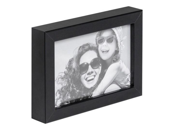 Ramka na zdjęcia Simple 10 x 15 cm czarna Drewno Kategoria Ramy i ramki na zdjęcia