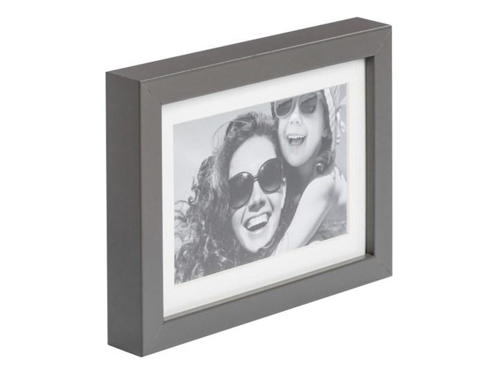 Ramka na zdjęcia Simple 13 x 18 cm szara Kategoria Ramy i ramki na zdjęcia Drewno Kolor Szary