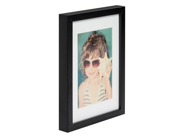 Ramka na zdjęcia Simple 18 x 24 cm czarna Drewno Rozmiar zdjęcia 18x24 cm