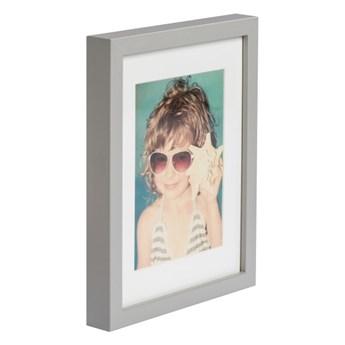 Ramka na zdjęcia Simple 18 x 24 cm jasnoszara