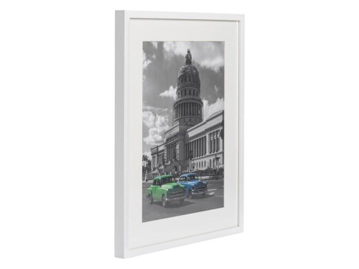 Ramka na zdjęcia Simple 40 x 50 cm biała Drewno Kategoria Ramy i ramki na zdjęcia Kolor Biały