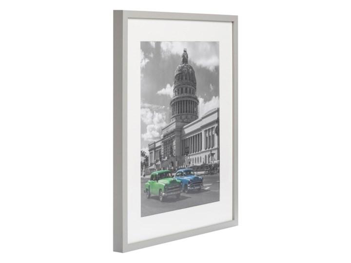 Ramka na zdjęcia Simple 40 x 50 cm jasnoszara Drewno Rozmiar zdjęcia 40x50 cm