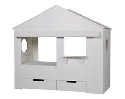 Łóżko w kształcie domku Woood Huisie bez szuflad
