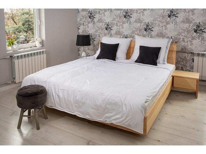 Ballega łóżko bukowe lewitujące 180x200 cm Łóżko drewniane Pojemnik na pościel Z pojemnikiem