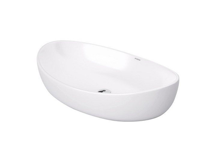 Umywalka nablatowa biała Somon 65x45x16