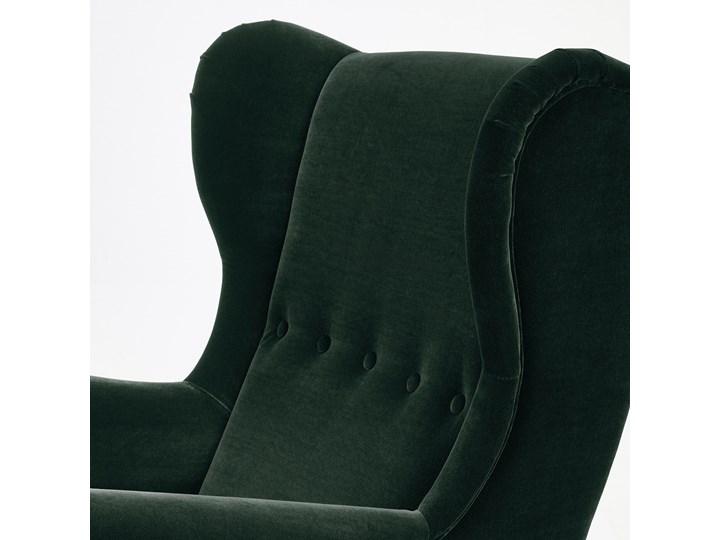 STRANDMON Fotel uszak Wysokość 101 cm Tworzywo sztuczne Szerokość 82 cm Kategoria Fotele do salonu Głębokość 96 cm Wysokość 45 cm Tkanina Głębokość 54 cm Styl Klasyczny
